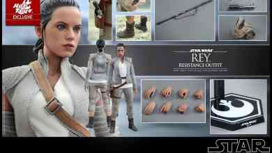 """image 55 - Hot Toys reveals Rey (Resistance outfit) 12"""" figure from Star Wars: The Force Awakens!"""