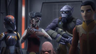 Photo of Star Wars Rebels Season 3 titles for episodes 1-6!