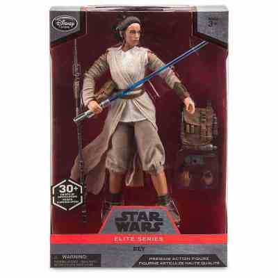 """Star Wars Elite Series 12"""" Rey and Kylo Ren now available"""