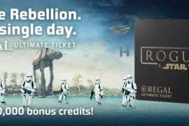 IMG 4898 - Regal offering Rogue One: A Star Wars Story ultimate ticket