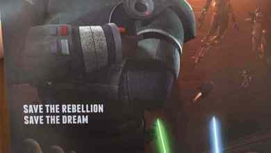 Photo of Saw Gerrera coming to Star Wars Rebels!