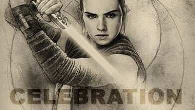 Photo of Star Wars Celebration Orlando badge art!