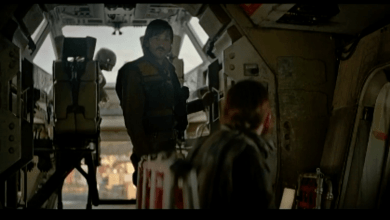 Photo of New Rogue One: A Star Wars Story clip from Twitter livestream