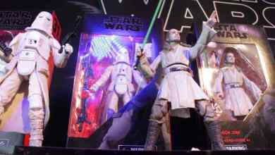 Hasbro goes big for Star Wars' 40th anniversary at New York Toy Fair. By Eric Cameron