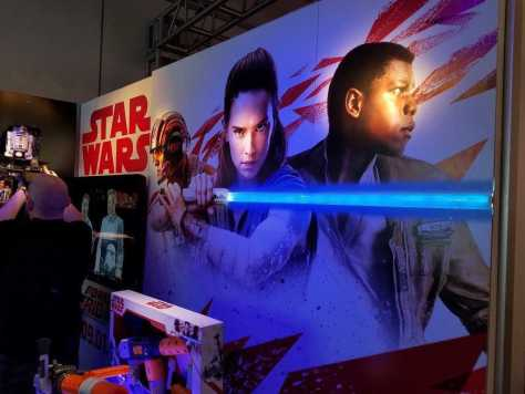 Better look at Rey and Finn from Star Wars: The Last Jedi