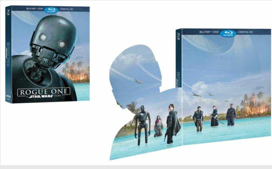 IMG 6823 - Rogue One: A Star Wars Story Blu-Ray exclusives and release date!