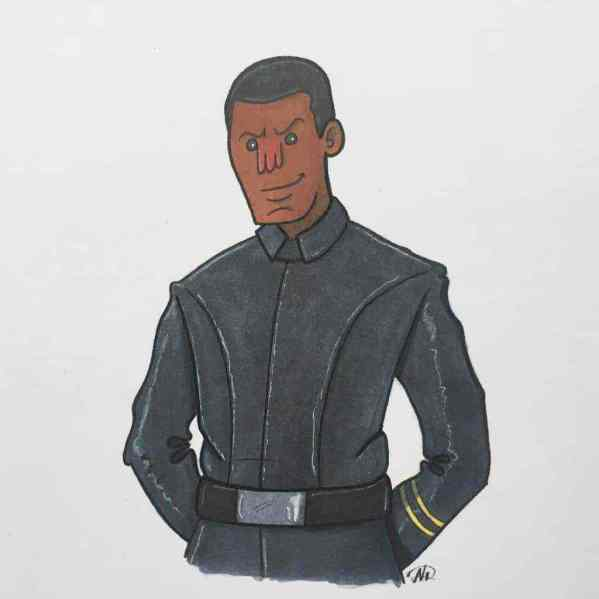 Last Jedi Finn - Star Wars: The Last Jedi's Super Star Destroyer and Finn's curious outfit