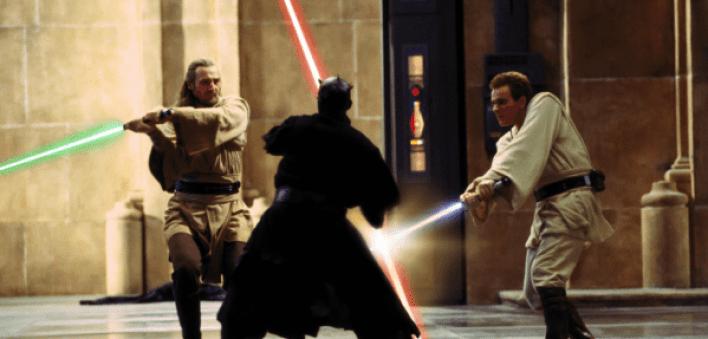 Jedi vs. Sith in Star Wars: The Phantom Menace