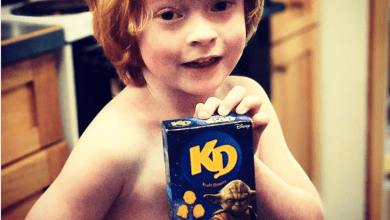 Photo of Help! Little dude on the autism spectrum needs your Star Wars Kraft Macaroni and Cheese! One portion!