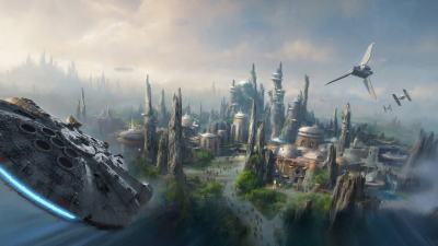 Disney teases AT-AT constructions for Star Wars-themed Lands