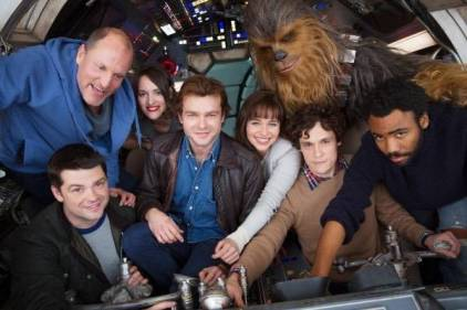 A few untitled Han Solo story cast and character names and more!