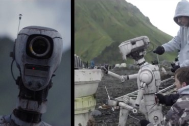 R1 doc - Two Rogue One: A Star Wars Story clips offer behind-the-scenes look at the film