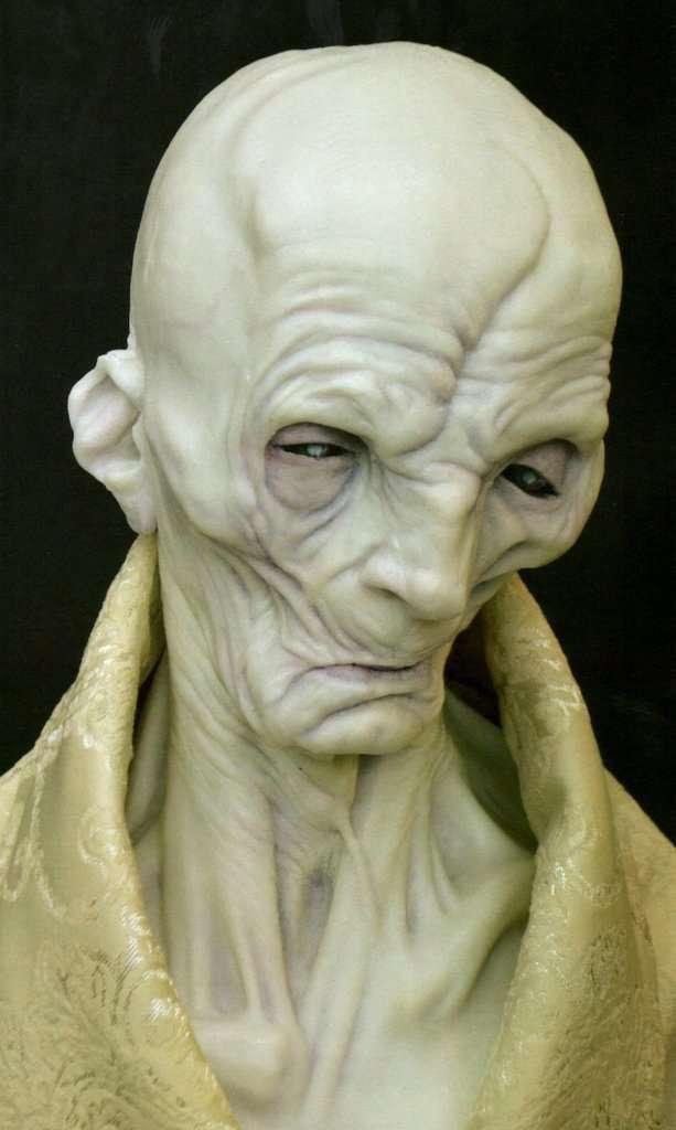 A quoi ressemblera Snoke dans Les Derniers Jedi ?