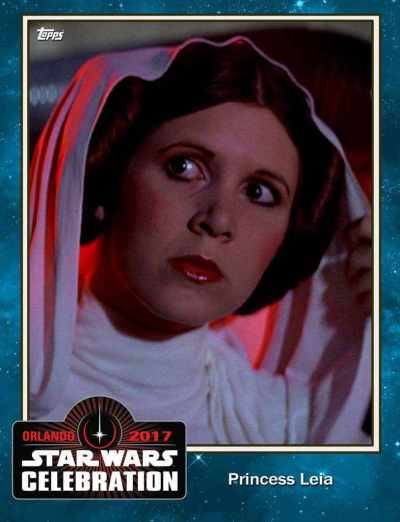 Sneak Peek! Topps Star Wars Card Trader exclusive set for Star Wars Celebration!