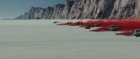 You can visit Star Wars: The Last Jedi's planet Crait with Star Tours!