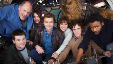 Photo of Views from the Star Wars: Han Solo Set from TMZ