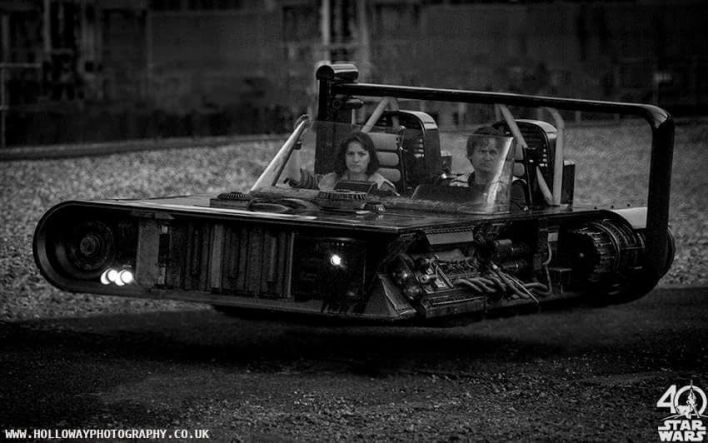 pod car shot - A pretty rad pod car photo from the untitled Han Solo Star Wars Story!