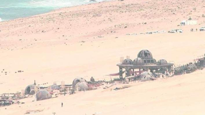 La Fosa Fuerteventura LFDR - A fun photo of the Fuerteventura set from the untitled young Han Solo Star Wars story!