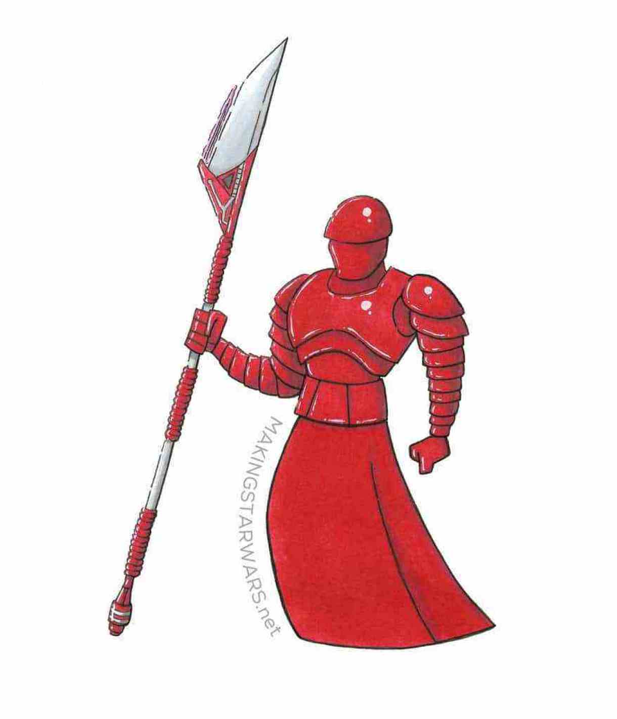 You Can Read Some Of Our Older Stories On The Elite Praetorians Guards Here And One We Sketched So Now Have Three Them In