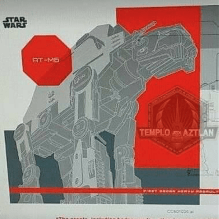 Screen Shot 2017 06 08 at 11.18.07 AM - Photos of a Praetorian Guard, Executioner Stormtrooper, and new AT-AT from Star Wars: The Last Jedi!