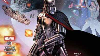 Photo of Press Release: JOURNEY TO STAR WARS: THE LAST JEDI – CAPTAIN PHASMA #1!