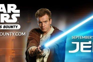 Jedi Funko - Last Day to Sign Up for Funko's Star Wars Smuggler's Bounty Jedi Box!