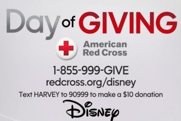 HARVEY - Star Wars Fans: It is the Disney Day of Giving! Help people hurt by Hurricane Harvey