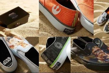 Sperry - Sperry to Launch Star Wars 40th Anniversary Footwear Collection!