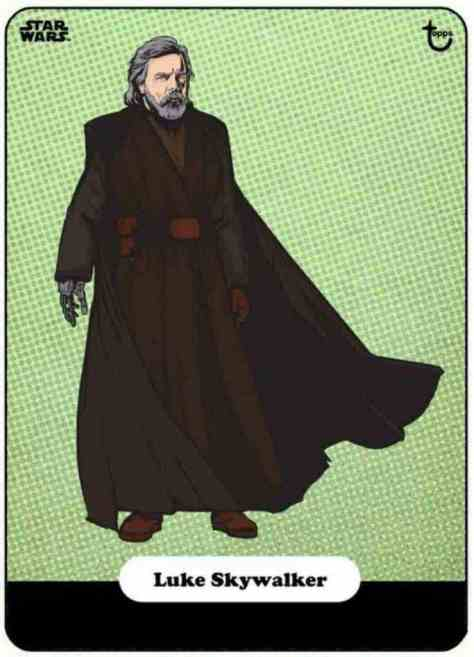 did swct show us our first look at luke skywalker s final costume in