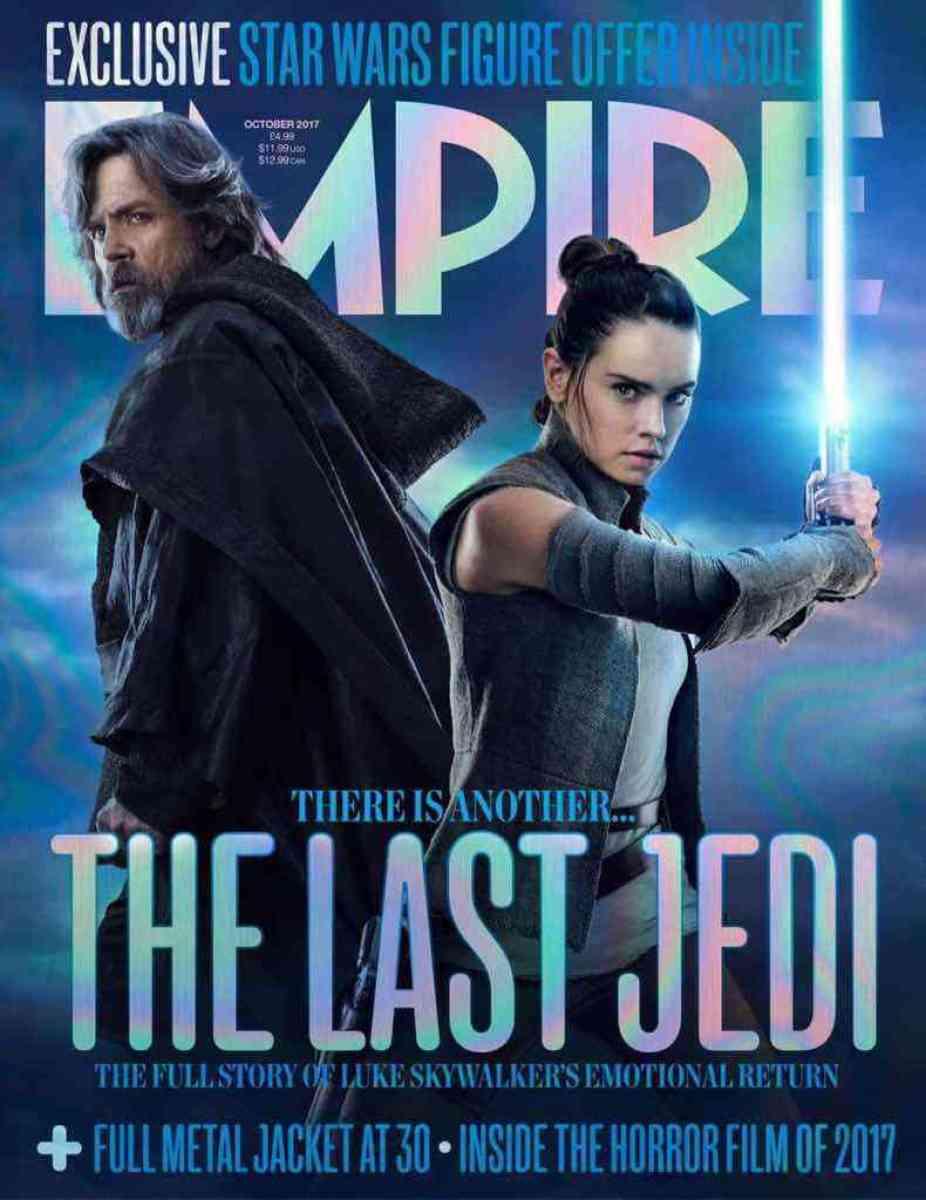 Star Wars: The Last Jedi Empire Magazine Regular Cover!