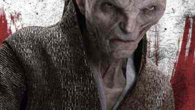 Photo of New look at Supreme Leader Snoke from Star Wars: The Last Jedi!