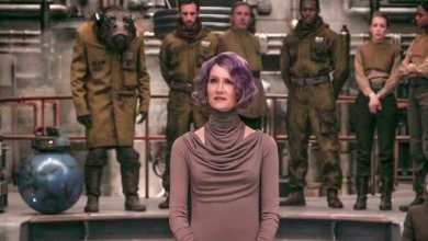 Photo of A new photo of Vice Admiral Amilyn Holdo from Star Wars: The Last Jedi