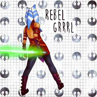 Rebel Grrrl Episode 87 - Welcome Space Jess!