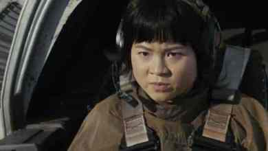 Photo of New shot of Rose Tico in a Resistance ski speeder from Star Wars: The Last Jedi!