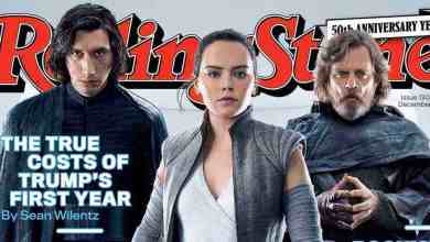 Photo of Rolling Stone shares its Star Wars: The Last Jedi cover!
