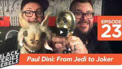 Screen Shot 2017 11 13 at 12.45.04 PM - Black Series Rebels had Paul Dini on the show!