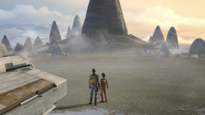 Star Wars Rebels episode descriptions tease a return to Lothal's Jedi Temple