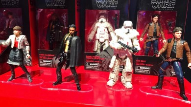 Photo of Hasbro Star Wars Toy Fair display showcases Solo: A Star Wars Story and Vintage Collection!
