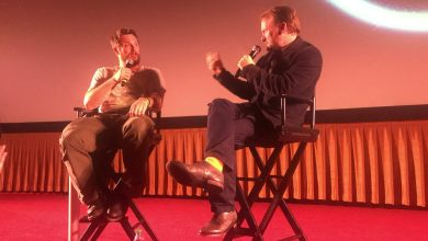 Photo of Rian Johnson Q&A with Duncan Jones for Netflix's Mute