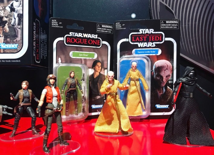 Hasbro Star Wars Toy Fair display showcases Solo: A Star Wars Story and Vintage Collection!