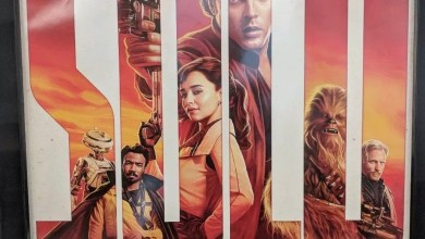 Photo of First Solo: A Star Wars Story theatrical poster hitting theaters!
