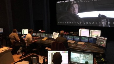 Sound Mixing at Skywalker Sound shows us a tiny glimpse of Solo: A Star Wars Story