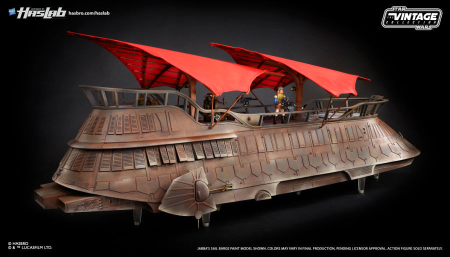 Only one day left to back the Star Wars Sail Barge from Hasbro!