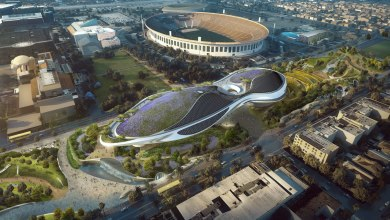 Photo of The 1.5 billion dollar Lucas Museum of Narrative Art in Los Angeles is about to break ground!