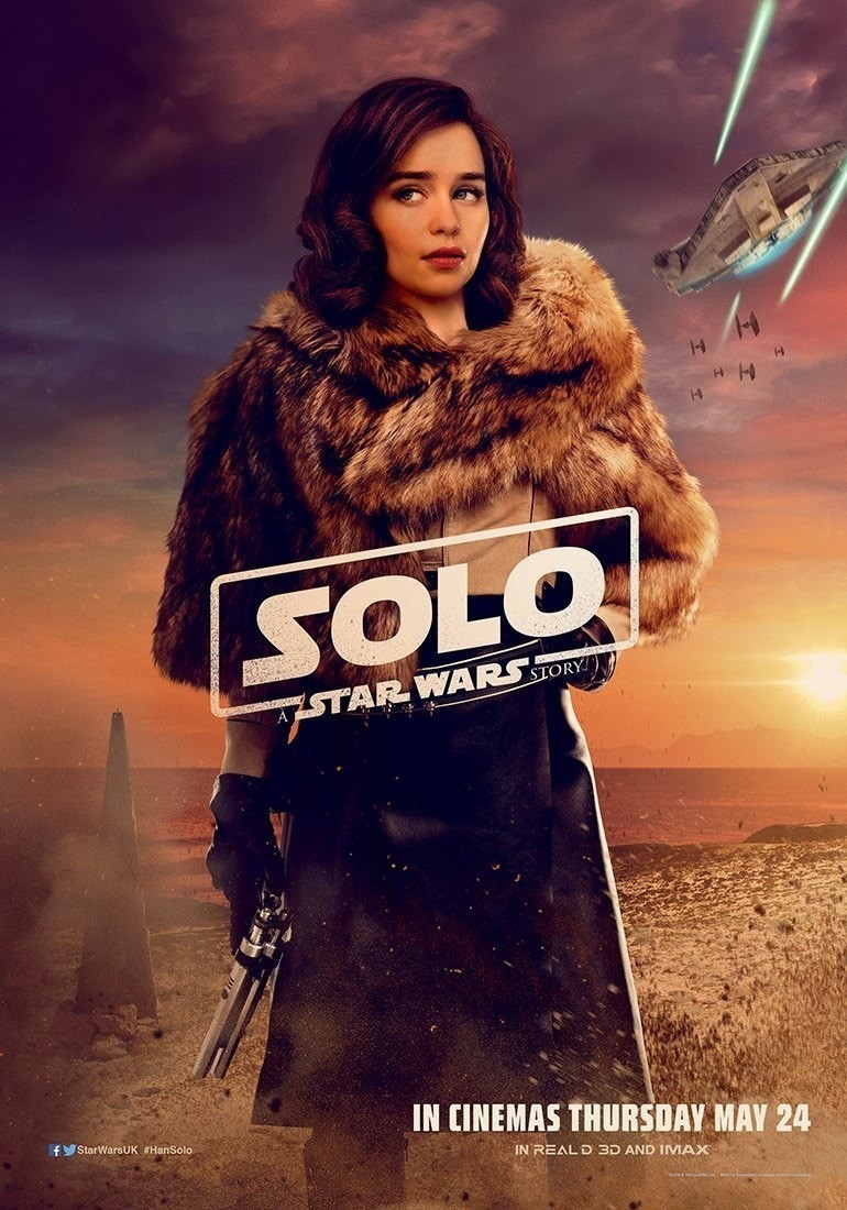 Solo: A Star Wars Solo UK character posters!