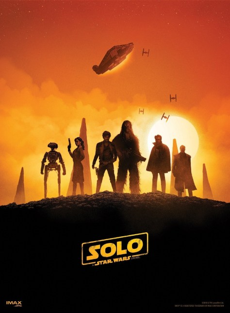 Solo: A Star Wars Story movie theater giveaways!