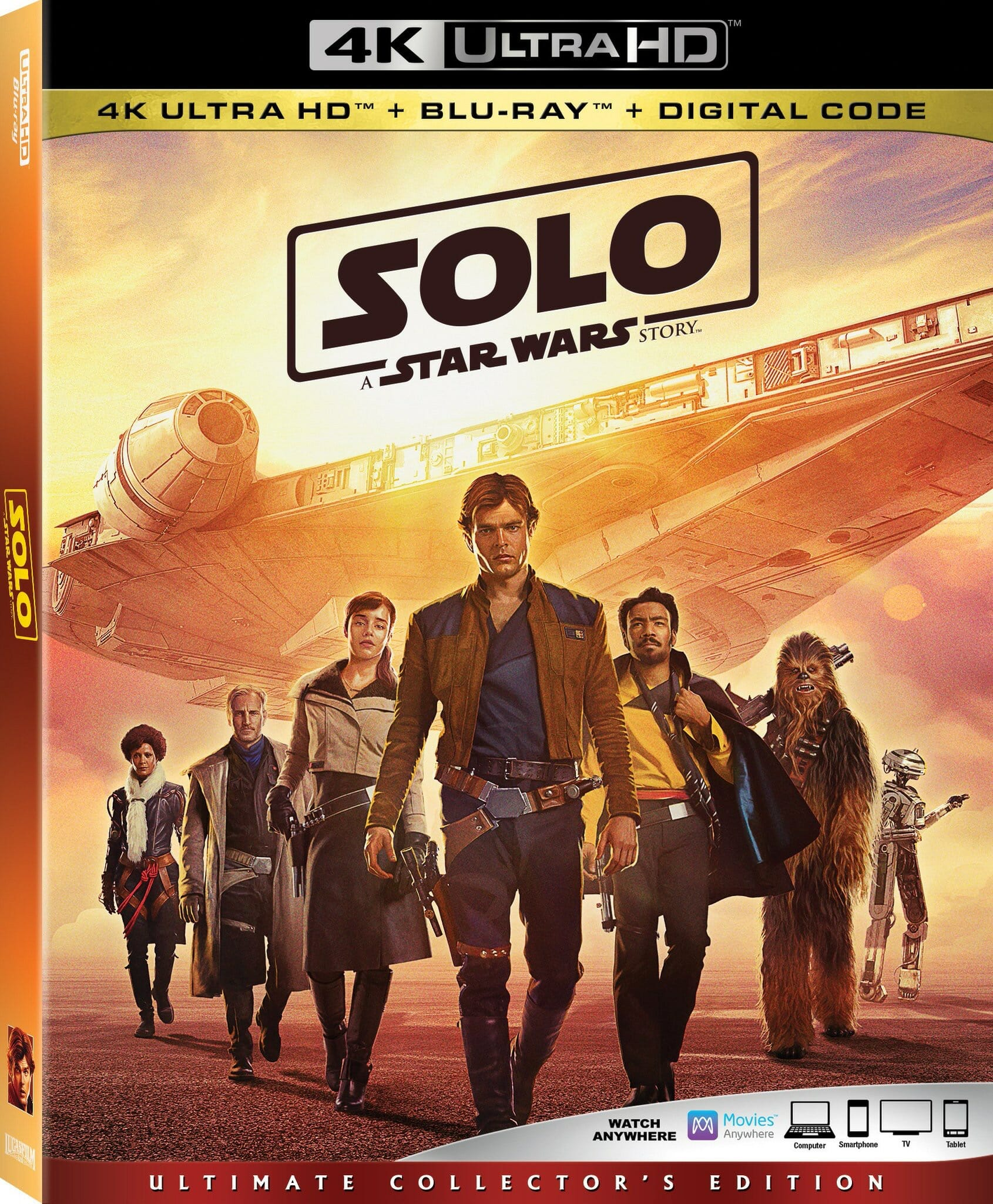 Solo: A Star Wars Story hits 4K digital September 14th! | Making