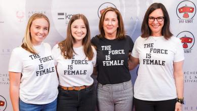 Photo of Kathleen Kennedy to continue making Star Wars for at least three more years!