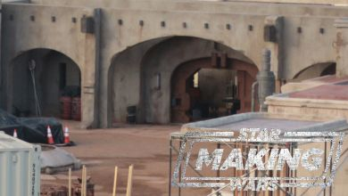 Photo of Exclusive high resolution photos & podcasting from a Star Wars: The Mandalorian filming location in Southern California!