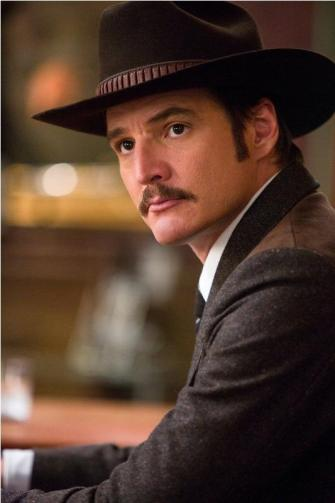 Pedro pascal in KINGSMAN THE GOLDEN CIRCLE